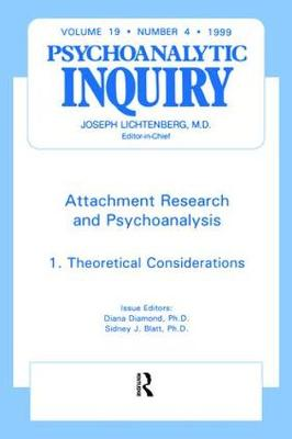 Attachment Research and Psychoanalysis - Diana Diamond
