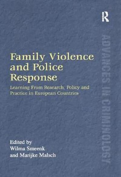 Family Violence and Police Response - Professor David Nelken