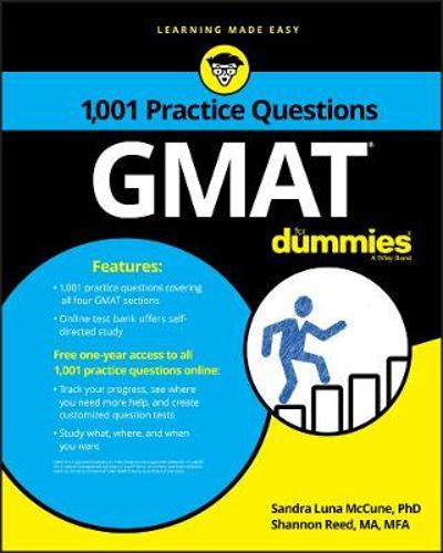 1,001 GMAT Practice Questions For Dummies - Consumer Dummies
