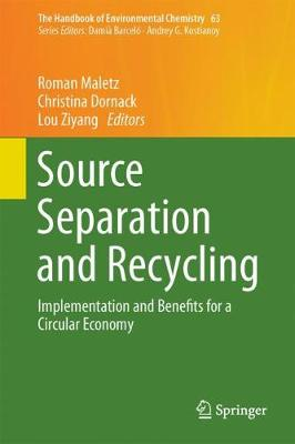 Source Separation and Recycling - Roman Maletz
