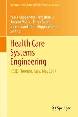 Health Care Systems Engineering - Paola Cappanera