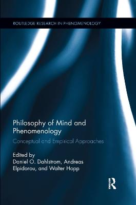 Philosophy of Mind and Phenomenology - Daniel O. Dahlstrom