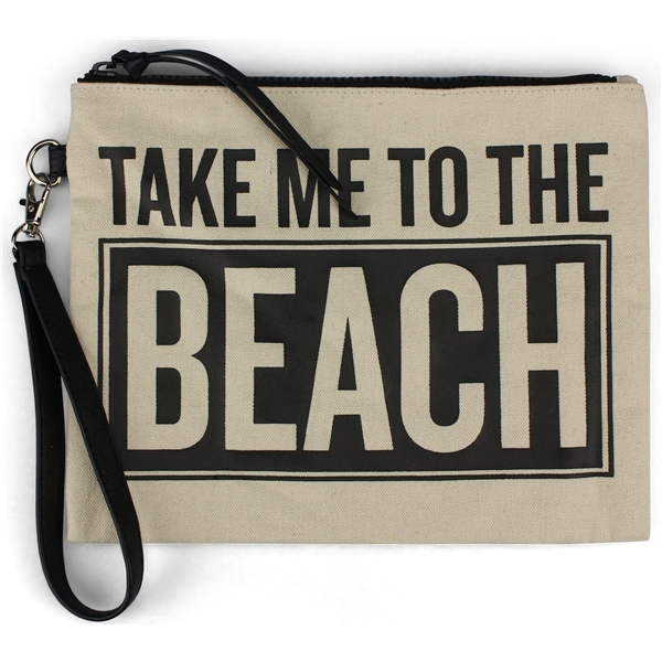 Beach Canvas Pouch - JJDK