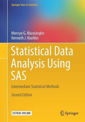 Statistical Data Analysis Using SAS - Mervyn G. Marasinghe