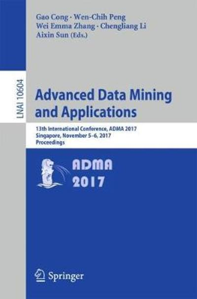 Advanced Data Mining and Applications - Gao Cong