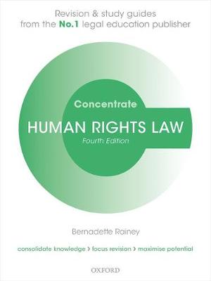 Human Rights Law Concentrate - Bernadette Rainey
