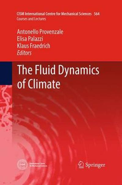 The Fluid Dynamics of Climate - Antonello Provenzale