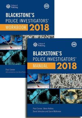 Blackstone's Police Investigators' Manual and Workbook 2018 -