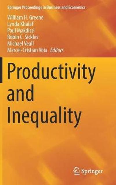 Productivity and Inequality - William H. Greene