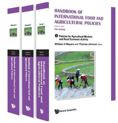 Handbook Of International Food And Agricultural Policies (In 3 Volumes) - Timothy Josling
