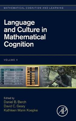 Language and Culture in Mathematical Cognition - Daniel B. Berch
