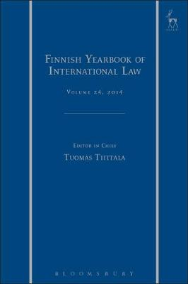 Finnish Yearbook of International Law, Volume 24, 2014 - Jarna Petman