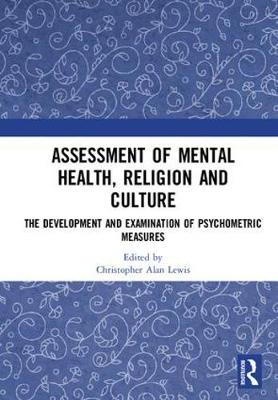 Assessment of Mental Health, Religion and Culture - Christopher Alan Lewis