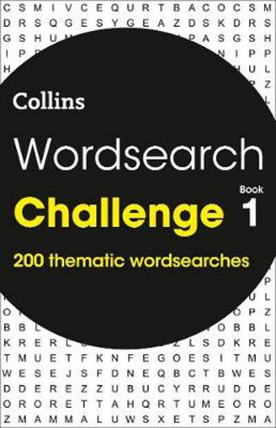 Wordsearch Challenge book 1 - Collins