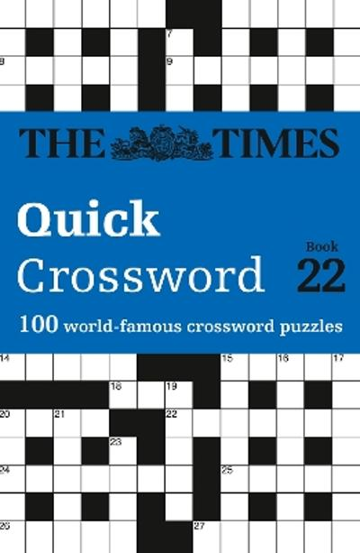 The Times Quick Crossword Book 22 - The Times Mind Games