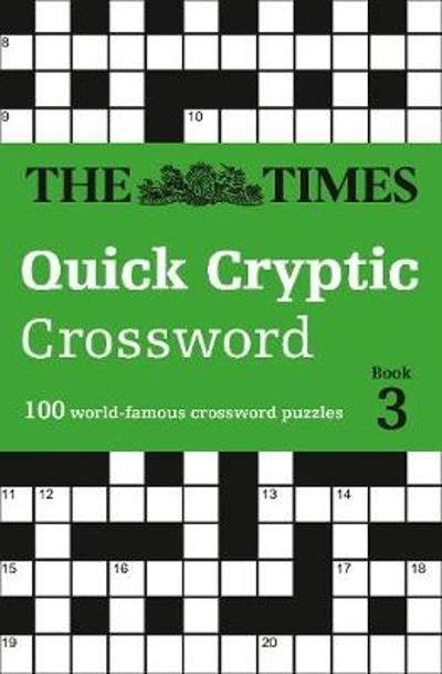 The Times Quick Cryptic Crossword Book 3 - The Times Mind Games