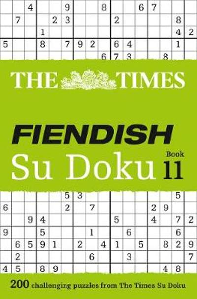 The Times Fiendish Su Doku Book 11 - The Times Mind Games