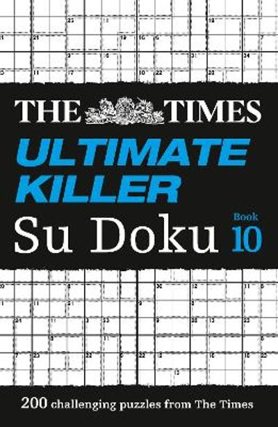 The Times Ultimate Killer Su Doku Book 10 - The Times Mind Games