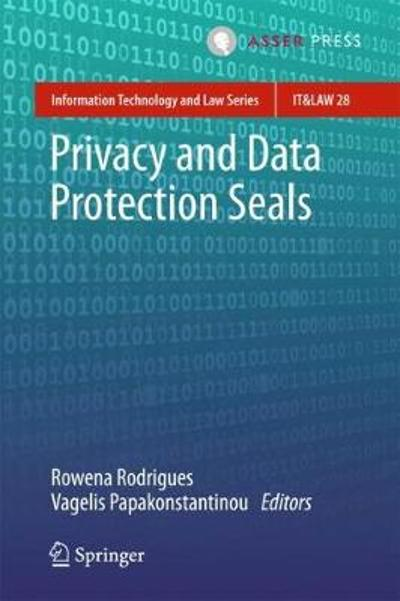 Privacy and Data Protection Seals - Rowena Rodrigues
