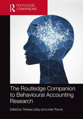 The Routledge Companion to Behavioural Accounting Research - Theresa Libby
