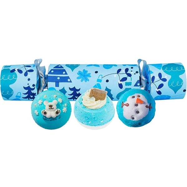 Berry Christmas Cracker Bath Blasters Set - Bomb Cosmetics