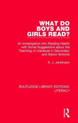 What do Boys and Girls Read? - A. J. Jenkinson