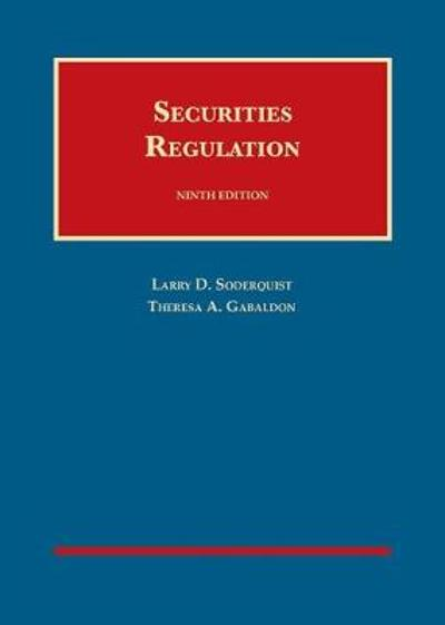 Securities Regulation - Theresa Gabaldon