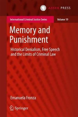 Memory and Punishment - Emanuela Fronza