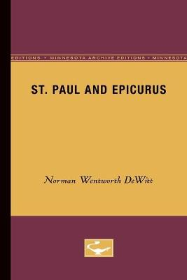 St. Paul and Epicurus - Norman Wentworth DeWitt