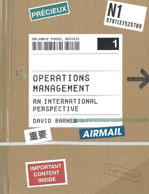 Operations Management - David Barnes