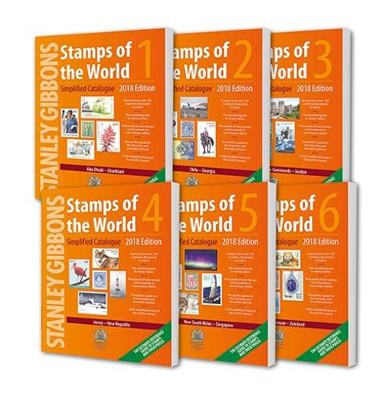 2018 Stamps of the World (6 Volume Set) - Hugh Jefferies