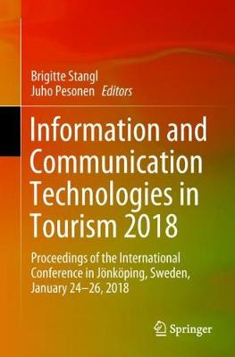 Information and Communication Technologies in Tourism 2018 - Brigitte Stangl