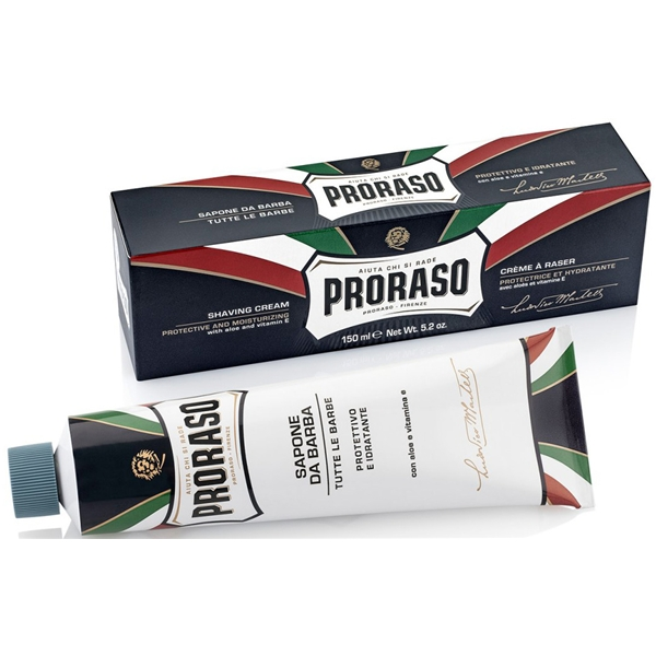 Shaving Cream Aloe Vera & Vitamin E Tube - Proraso