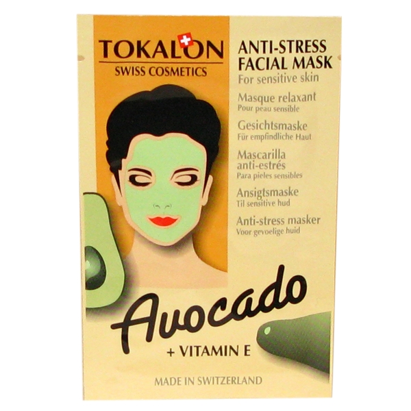 Tokalon - Avocado Facial Mask - Tokalon
