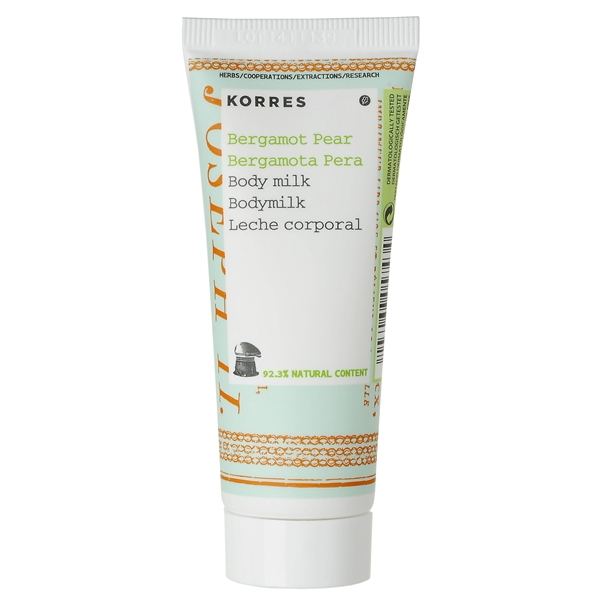 Body Milk Mini Bergamot Pear - Korres