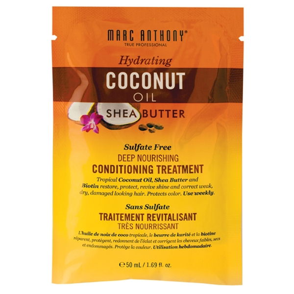 Hydrating Coconut Oil & Shea Butter Sachet - Marc Anthony