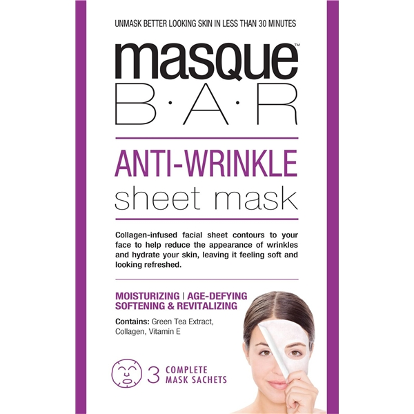 Anti-Wrinkle Sheet Mask - Masque Bar