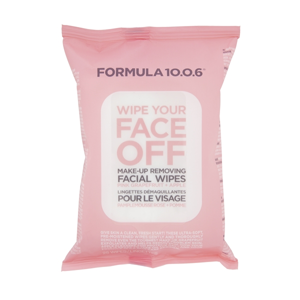 Wipe Your Face Off Wipes - Formula 10.0.6