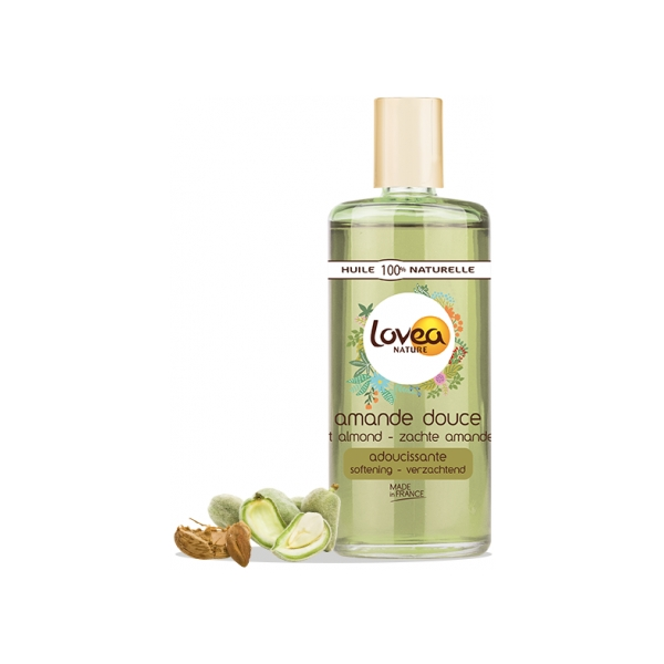 Sweet Almond Oil - 100% Natural - Sensitive Skin - Lovea