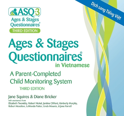 Ages & Stages Questionnaires (R) (ASQ (R)-3): (Vietnamese, on CD) - Jane Squires