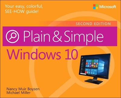 Windows 10 Plain & Simple - Nancy Muir Boysen