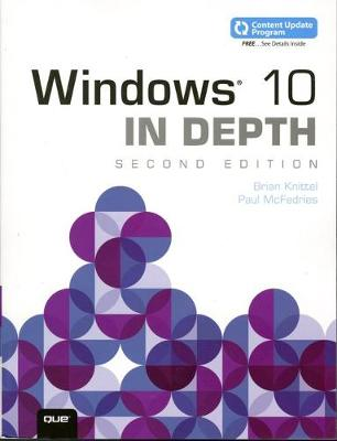 Windows 10 In Depth (includes Content Update Program) - Brian Knittel