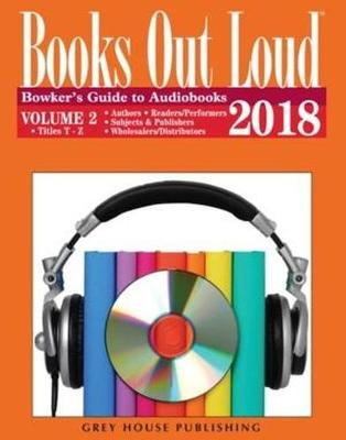 Books Out Loud, 2018 - RR Bowker