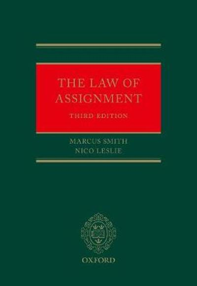 The Law of Assignment - Marcus Smith