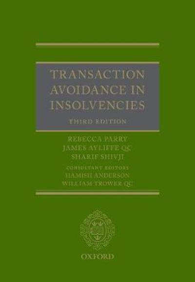 Transaction Avoidance in Insolvencies - Rebecca Parry
