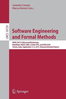 Software Engineering and Formal Methods - Antonio Cerone
