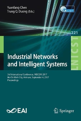 Industrial Networks and Intelligent Systems - Yuanfang Chen