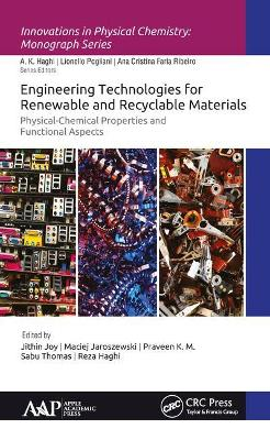 Engineering Technologies for Renewable and Recyclable Materials - Jithin Joy