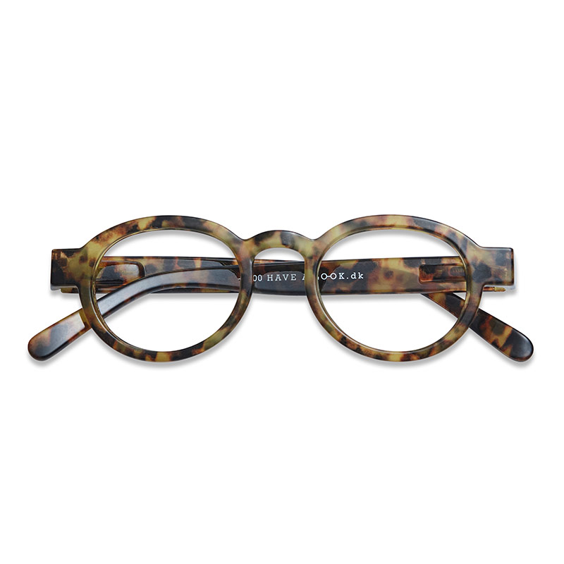 Lesebrille Circle twist turtle light +3 - Have A Look