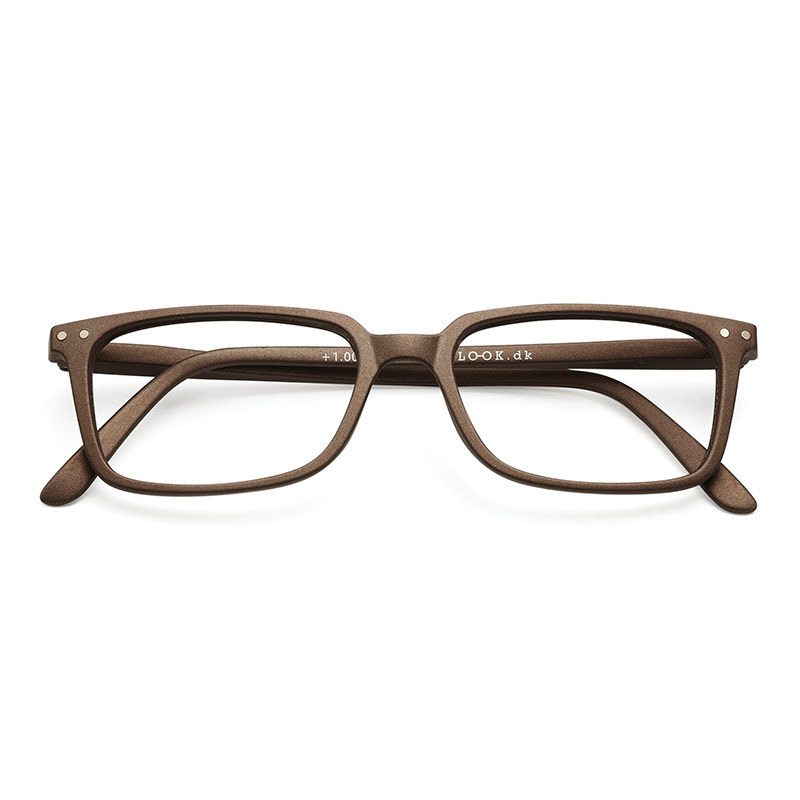 Lesebrille Classic warm grey +2 - Have A Look